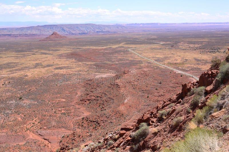 Toneellandschap in Utah, de V.S. stock afbeeldingen