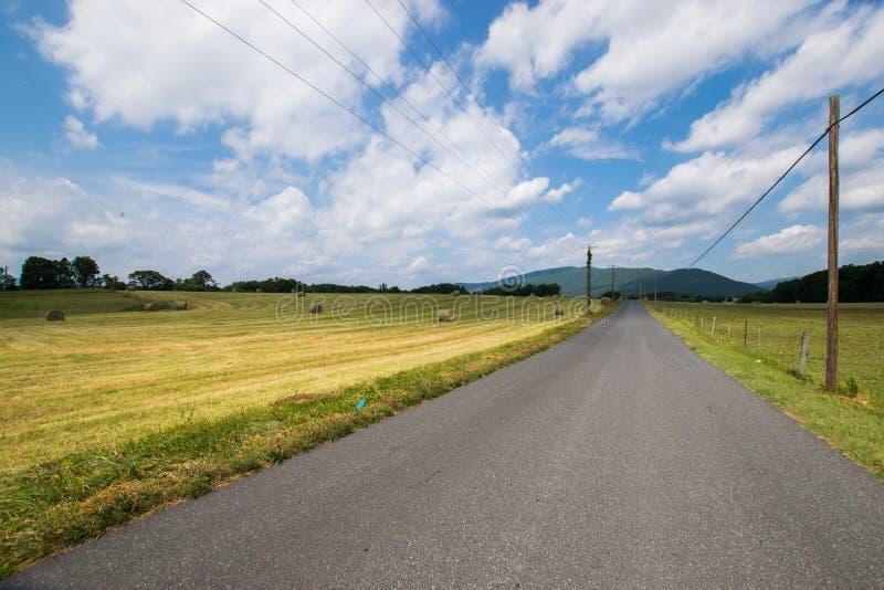 Toneellandschap van Elkton, Virginia rond Nationale Shenandoah royalty-vrije stock fotografie
