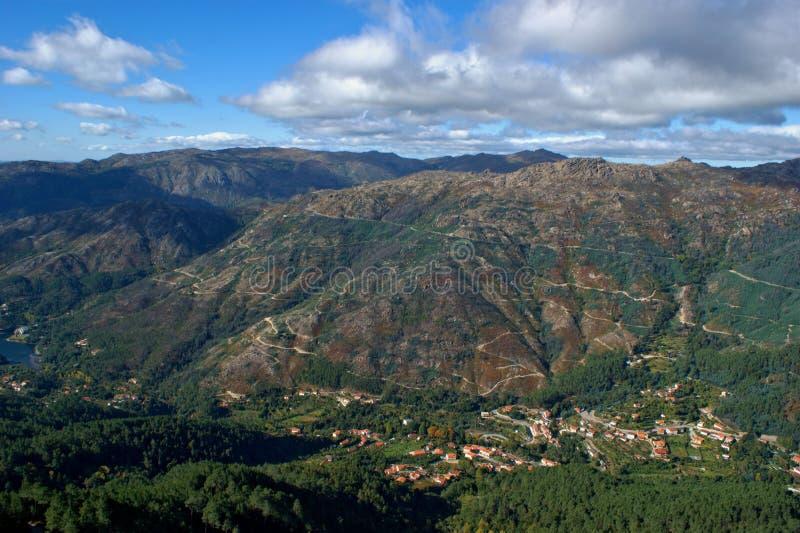 Toneelmening van Nationaal Park van Peneda Geres royalty-vrije stock fotografie