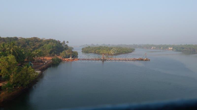 TONEELroute IN INDIA stock foto