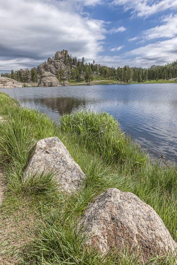Toneelsylvan lake stock foto