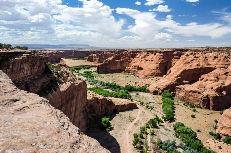 Toneelwoestijncanion in de V.S. royalty-vrije stock fotografie