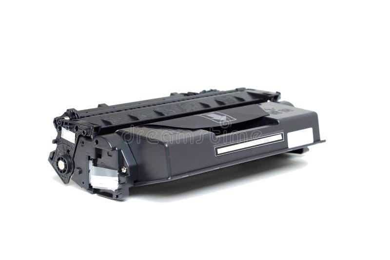 Toner cartridge. Toner cartridge on white background.Compatible stock photography