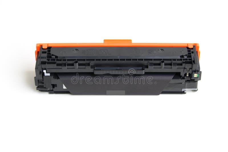 Toner cartridge. On white background.Compatible stock photo
