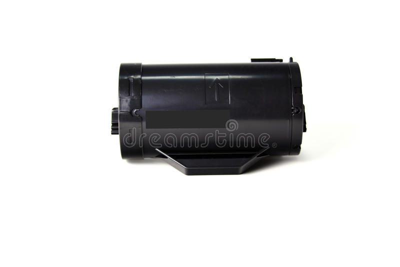 Toner cartridge. On white background.Compatible stock photography