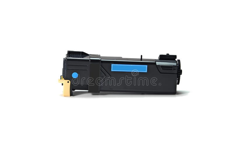 Toner cartridge. On white background.Compatible royalty free stock images