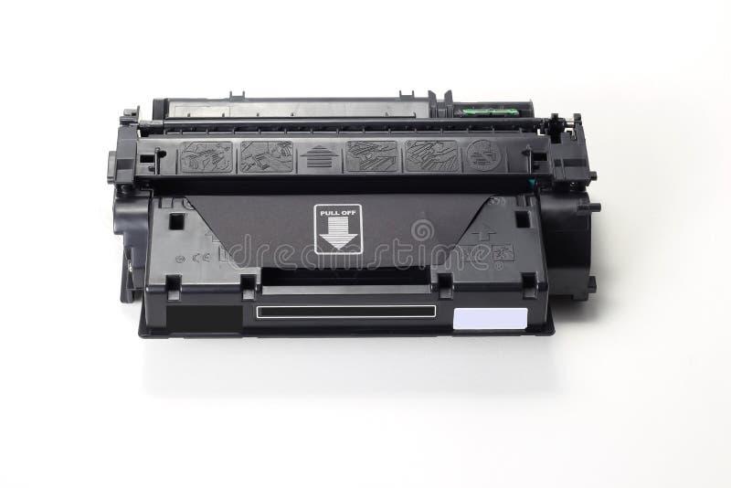 Toner cartridge. On white background.Compatible royalty free stock photos