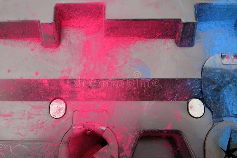 Toner colorato immagini stock