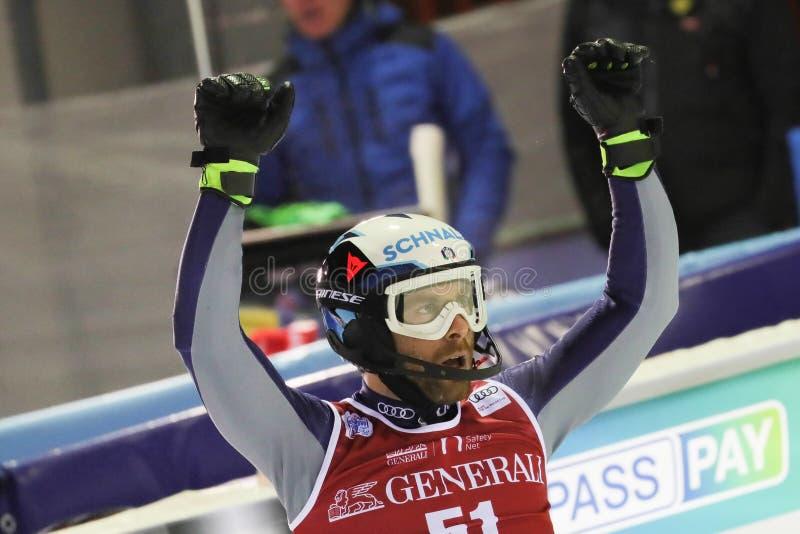 Ski FIS AUDI World Cup - Slalom Men stock photo