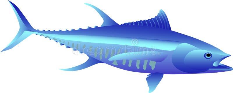 tonfisk vektor illustrationer