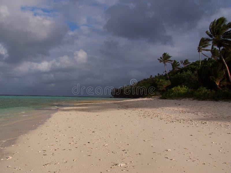 Tonga-Inselküstenlinie lizenzfreies stockfoto