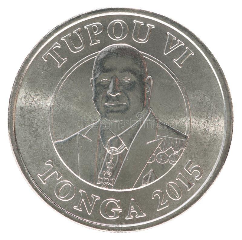 Tonga seniti moneta obraz royalty free