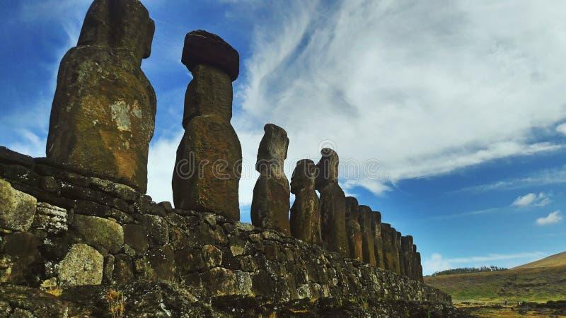 Tongariki arkivbilder