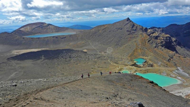Tongariro Alpine Circuit stock photos