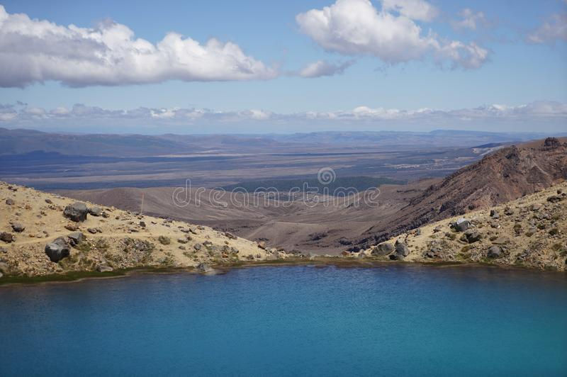 Tongariro alpine crossing royalty free stock image