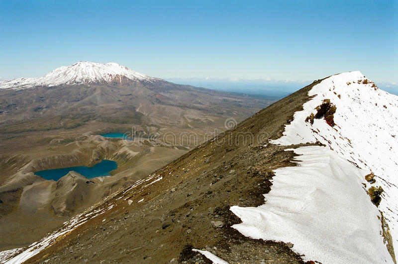Download Tongariro Crossing, New Zealand Stock Images - Image: 14302454