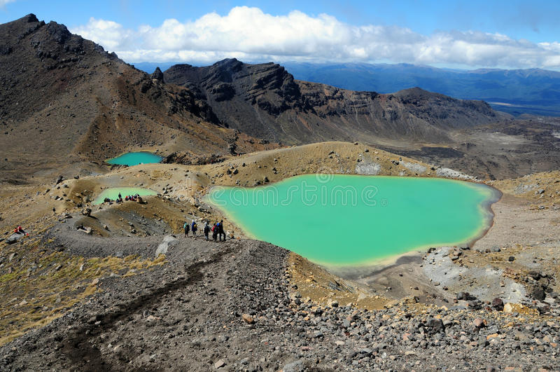 Tongariro Crossing - New Zealand royalty free stock image