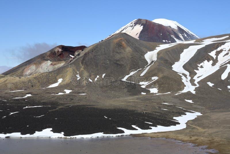 Tongariro stock image