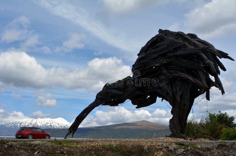 Tongariro nationalpark arkivbild