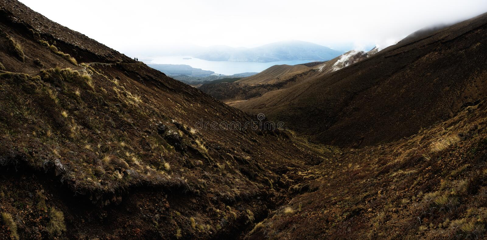 Tongariro NP NZ royalty free stock image