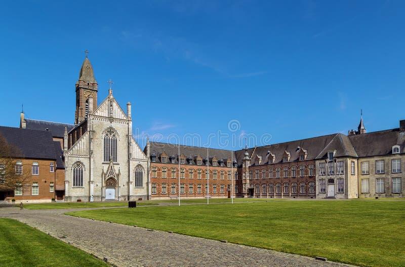 Tongerlo修道院,比利时 免版税图库摄影