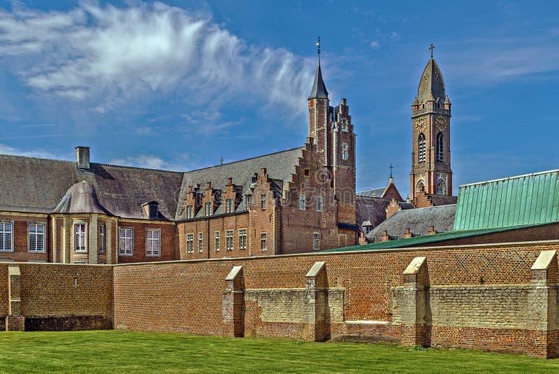 Tongerlo修道院,比利时 免版税库存照片
