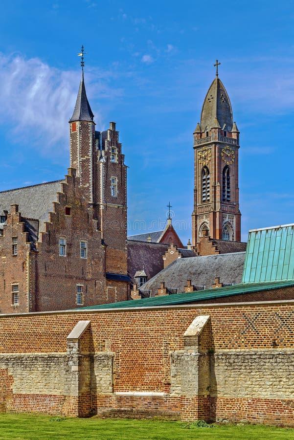 Tongerlo修道院,比利时 库存图片