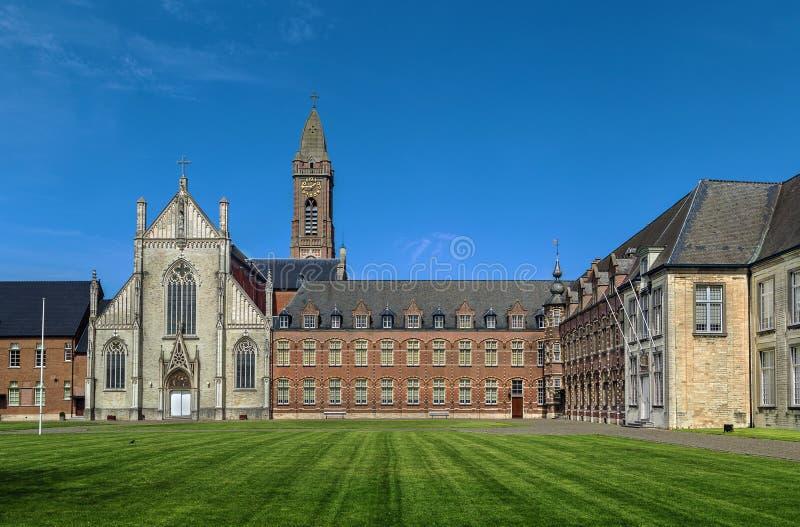Tongerlo修道院,比利时 库存照片