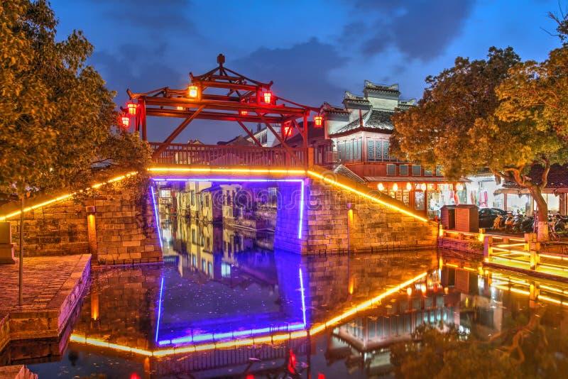 Tongli water town, China royalty free stock images