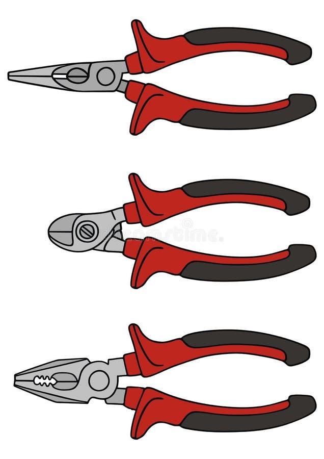 Tongs ilustracja wektor