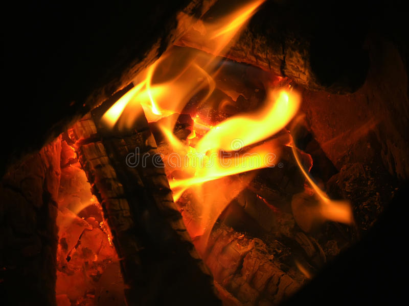Download Tongues of flame stock photo. Image of smoke, wood, tongues - 11977840