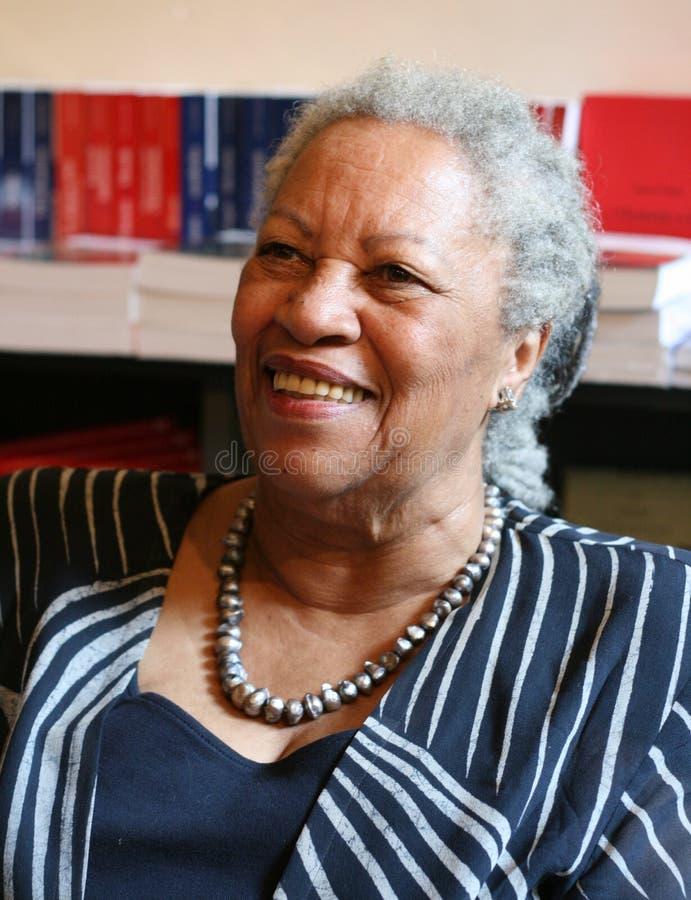 Toni Morrison - de Winnaar van de Nobelprijs van de V.S. royalty-vrije stock fotografie