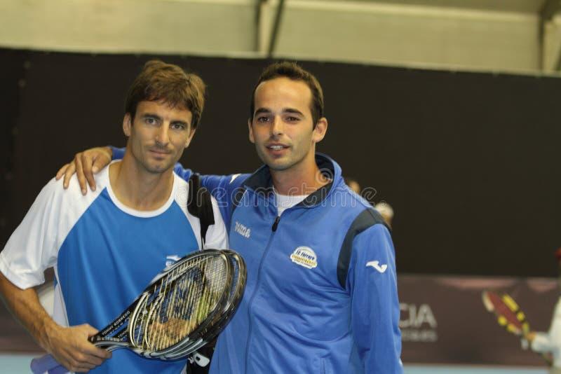 Download Toni Robredo Av Spanien Under Den öppna Valenciaen Redaktionell Arkivfoto - Bild av tennis, person: 27285533