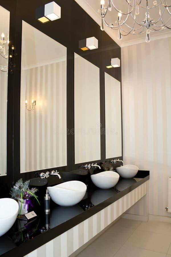 tonie toaletę zdjęcia royalty free