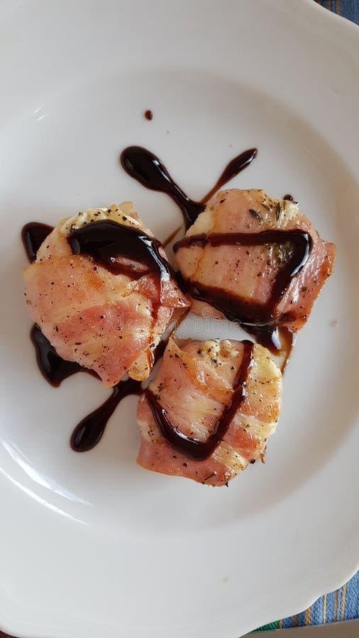 Tonijnlapjes vlees royalty-vrije stock foto