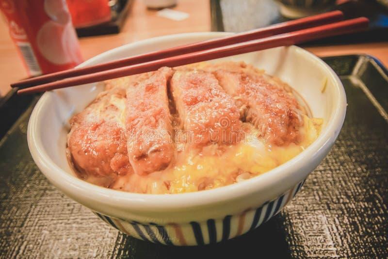 Tonkatsu - cuisine japonaise photos libres de droits