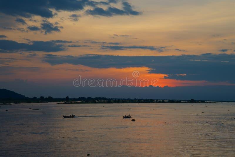 Tonle Sap湖 库存图片