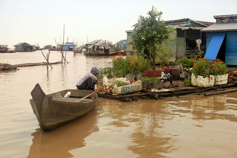 Tonle Sap lake stock photos