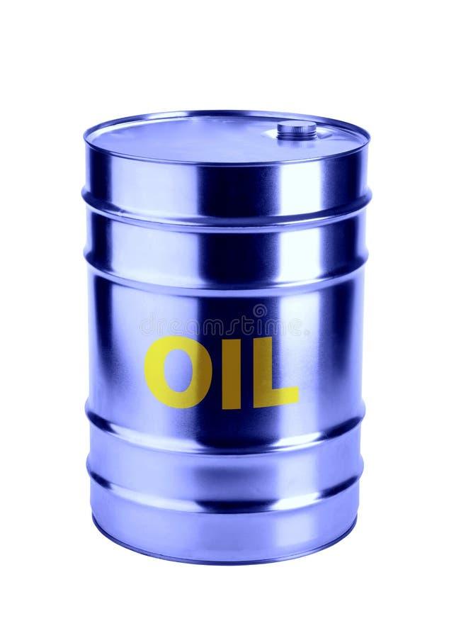 Tonneau à huile photo libre de droits