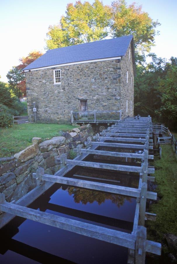 Tonnelier Mill à Chester, NJ photos stock
