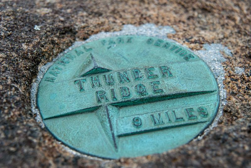 Tonnerre Ridge Monument images stock