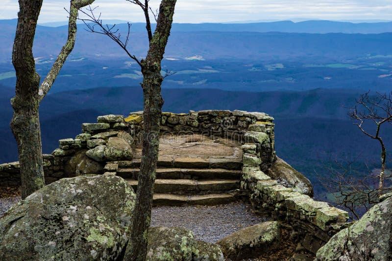 Tonnerre Ridge Overlook - 2 photographie stock