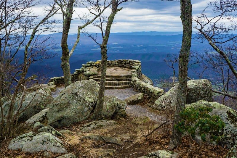 Tonnerre Ridge Overlook - 3 images libres de droits