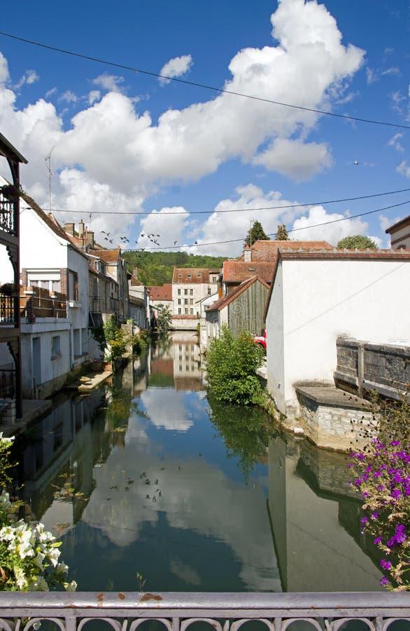 Tonnerre Yonne Bourgogne France. stock images