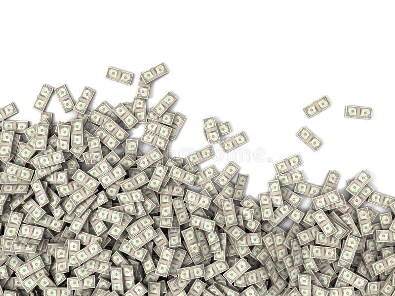 Tonnes d'argent photographie stock libre de droits