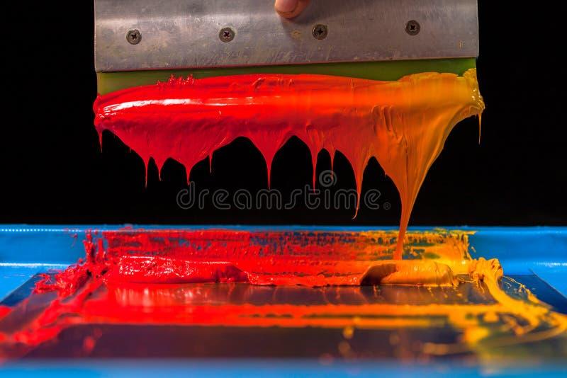 Tono caliente del color foto de archivo libre de regalías