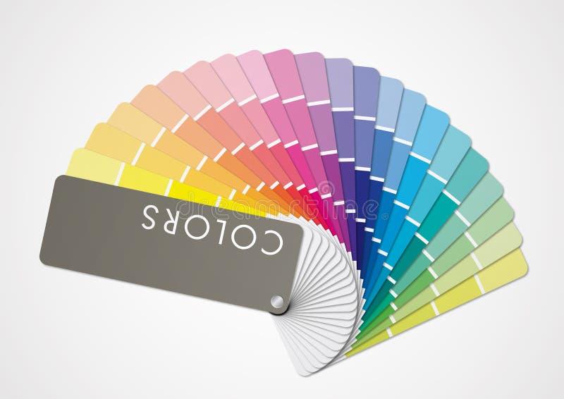 Tono de Multicolors ilustración del vector