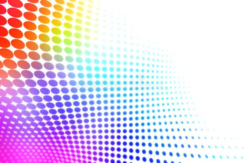 Tono medio colorido ilustración del vector