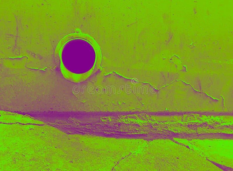 Tono urbano del dúo del dren de la tormenta imagen de archivo