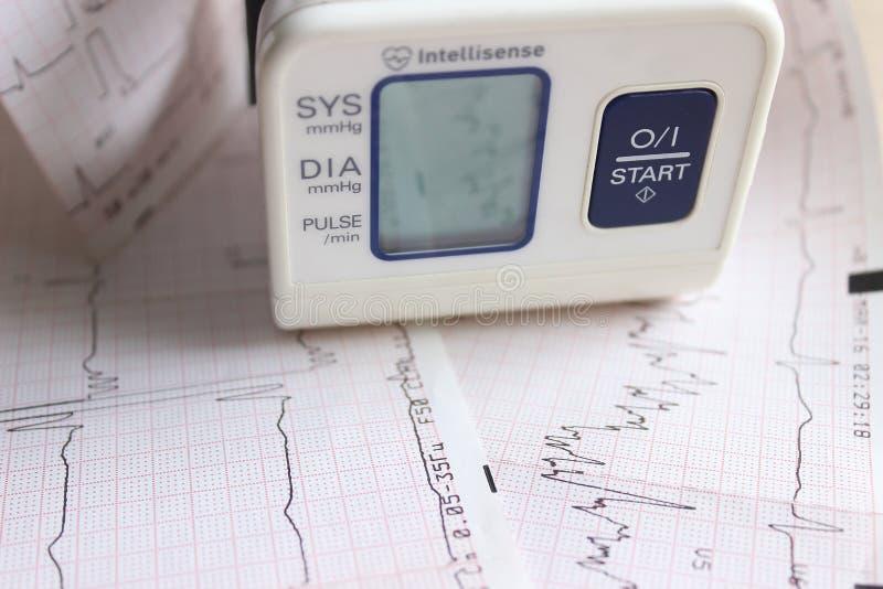 Tonometer stock afbeelding